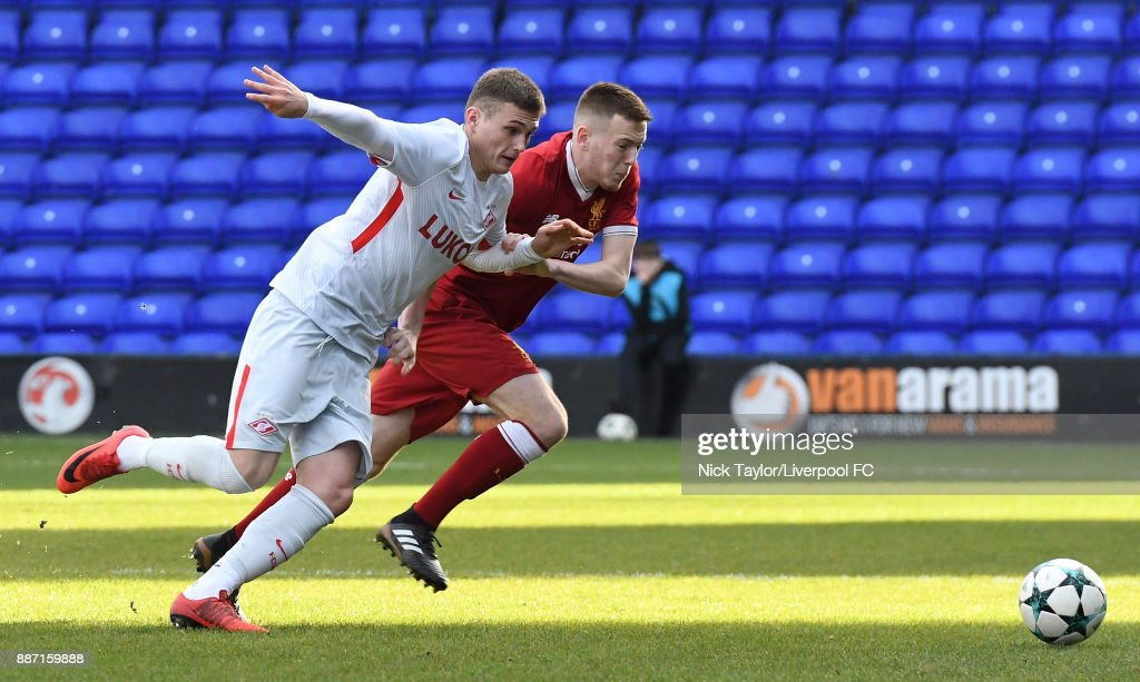 Liverpool FC v Spartak Moskva - UEFA Youth League : News Photo
