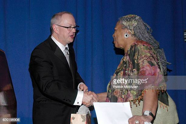 George Jones and Toni Morrison attend The PEN American Center's 2008 Literary Gala at American Museum of Natural History on April 28 2008 in New York...