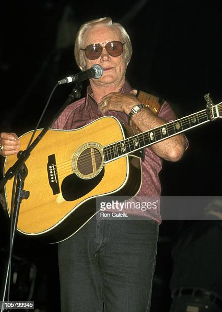 George Jones during Legends of Country Music Concert at Aladdin Hotel in Las Vegas Nevada United States