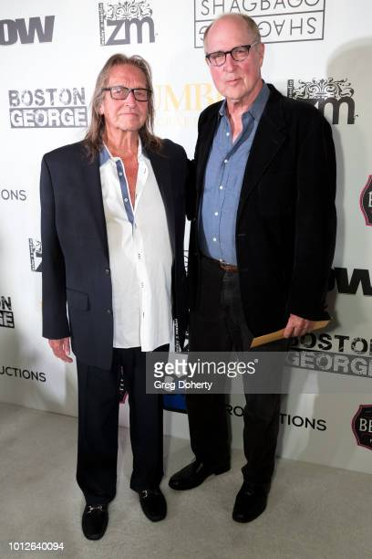 George Jung and Author Bruce Porter attend George Jung's Birthday Celebration And Screening Of Blow at TCL Chinese 6 Theatres on August 6 2018 in...