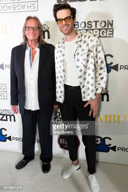 George Jung and Musician Singer Songwriter Mayer Hawthorne attends George Jung's Birthday Celebration And Screening Of Blow at TCL Chinese 6 Theatres...