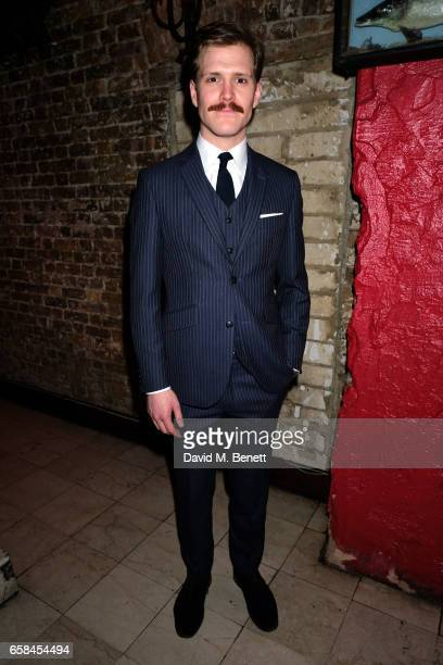 George Kemp attends the press night after party for The Wipers Times at Salvador Amanda on March 27 2017 in London England