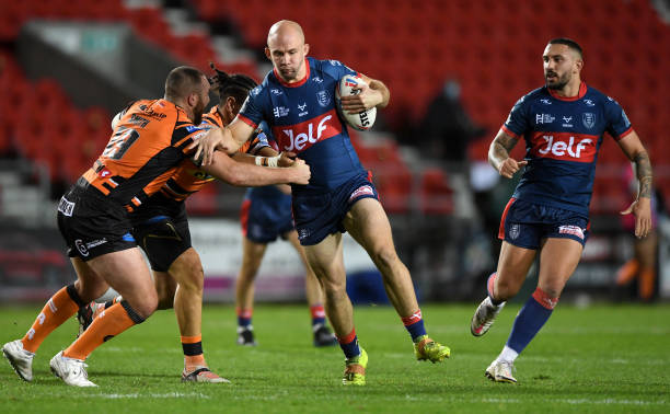 GBR: Castleford Tigers v Hull Kingston Rovers - Betfred Super League