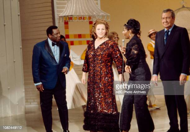 George Kirby Pearl Bailey Kate Smith Phil Harris appearing on the Walt Disney Television via Getty Images series 'The Pearl Bailey Show'