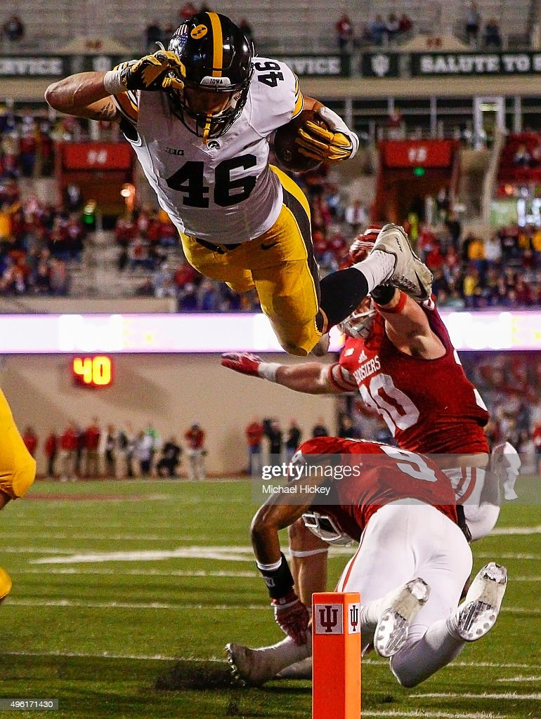 Iowa v Indiana : News Photo