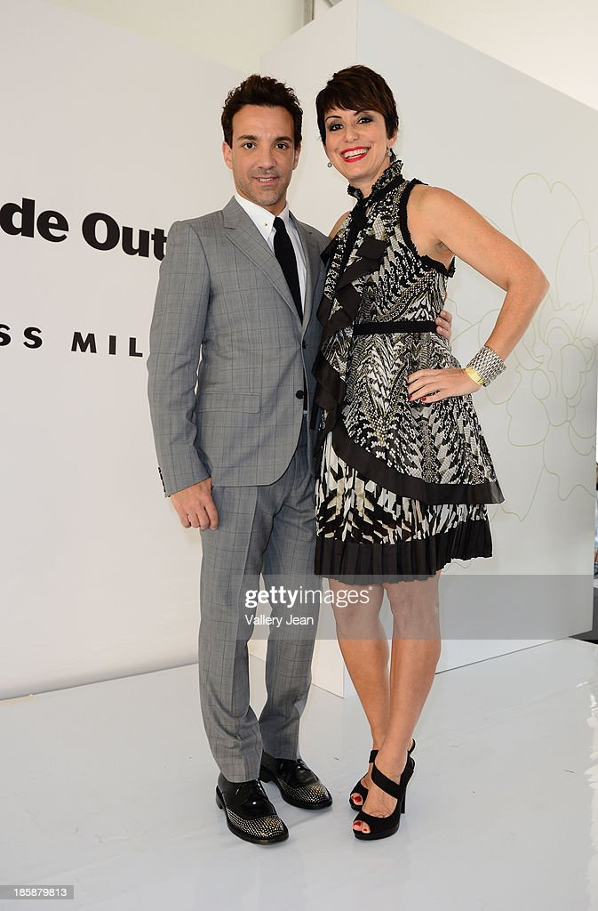 George Kotsiopoulos and Belkys Nerey appear at The Colonnade Outlets at the Sawgrass Mills Tour de Fashion at Sawgrass Mills Mall on October 25, 2013 in Sunrise, Florida.