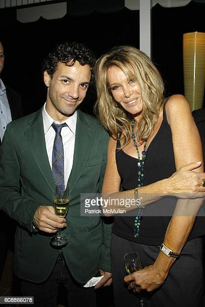 George Kotsiopoulos and Christine Peters attend Los Angeles Confidential Magazine Summer Celebration for the Creative Coalition at Beverly Hills...