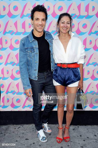George Kotsiopoulos and Magda Berliner attend the Aldo LA Nights 2018 at The Rose Room on June 13 2018 in Venice California