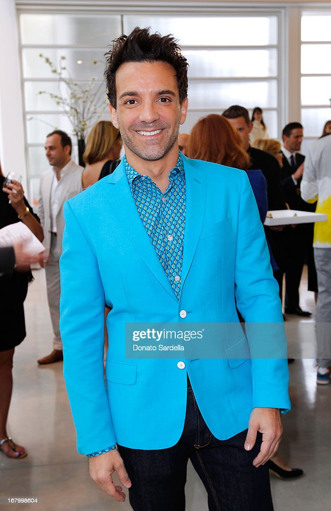 George Kotsiopoulos attends a cocktail reception hosted by Ferragamo to announce the inaugural opening gala for the Wallis Annenberg Center for the Performing Arts at Gagosian Gallery on May 3, 2013 in Beverly Hills, California.