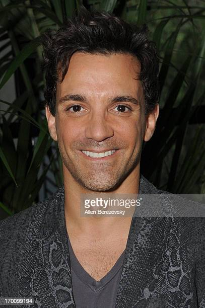 George Kotsiopoulos attends Jeremy Renner's and Kristoffer Winters' celebration of the launch of Robb Report Home Style on June 6 2013 in Los Angeles...