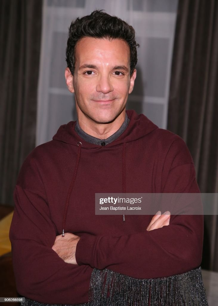 George Kotsiopoulos attends the Wolk Morais Collection 6 Fashion Show on January 17, 2018 in Los Angeles, California.