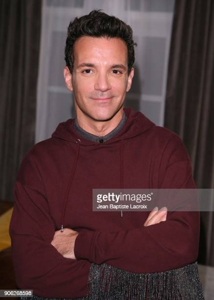 George Kotsiopoulos attends the Wolk Morais Collection 6 Fashion Show on January 17 2018 in Los Angeles California