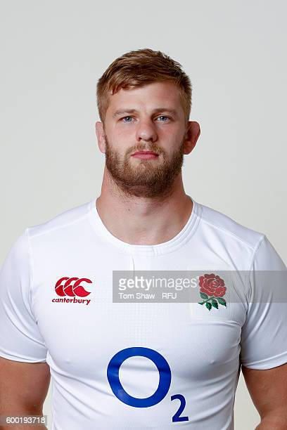 George Kruis of England poses for a portrait during the England Elite Player Squad photo call at The Lensbury on August 7 2016 in Teddington England