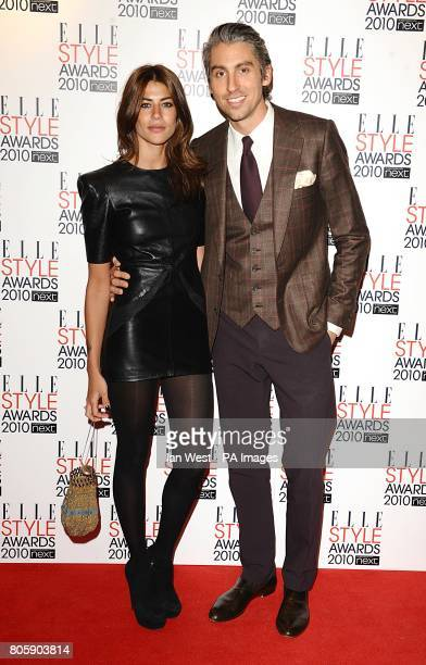 George Lamb and girlfriend Karima Adebibe arriving for the Elle Style awards at the Grand Connaught Rooms 61 Great Queen Street London