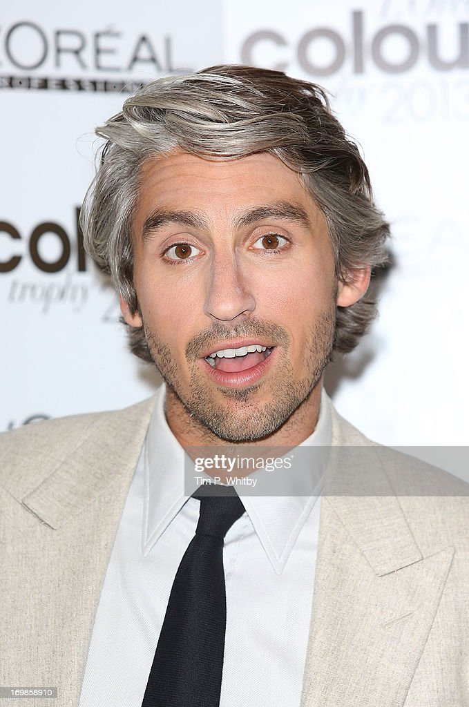 George Lamb arrives the L'Oreal Colour Trophy Awards 2013 at Grosvenor House, on June 3, 2013 in London, England.