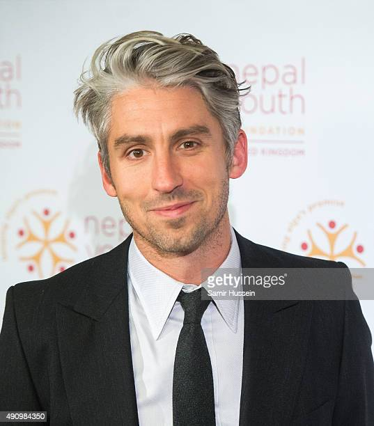 George Lamb attends a fundraising event in aid of the Nepal Youth Foundation at Banqueting House on October 1 2015 in London England