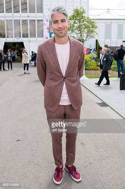 George Lamb attends Chelsea Flower Show press day at Royal Hospital Chelsea on May 23 2016 in London England