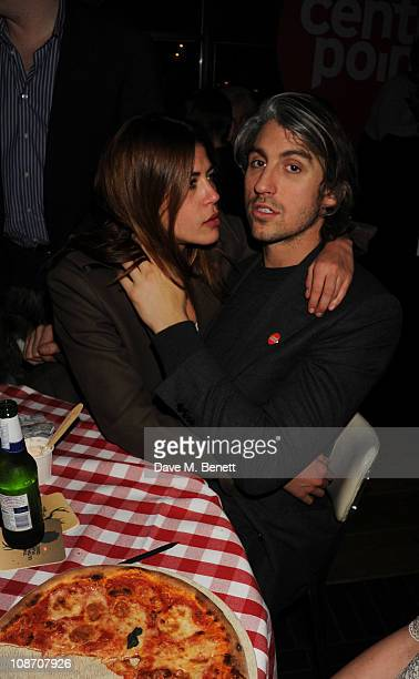 George Lamb attends the Centrepoint Ultimate Pub Quiz hosted by Kirsty Young at Shoreditch House on February 1 2011 in London England