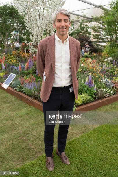 George Lamb attends the Chelsea Flower Show 2018 on May 21 2018 in London England