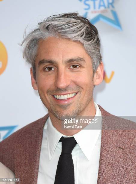 George Lamb attends the Good Morning Britain Health Star Awards at the Rosewood Hotel on April 24 2017 in London United Kingdom