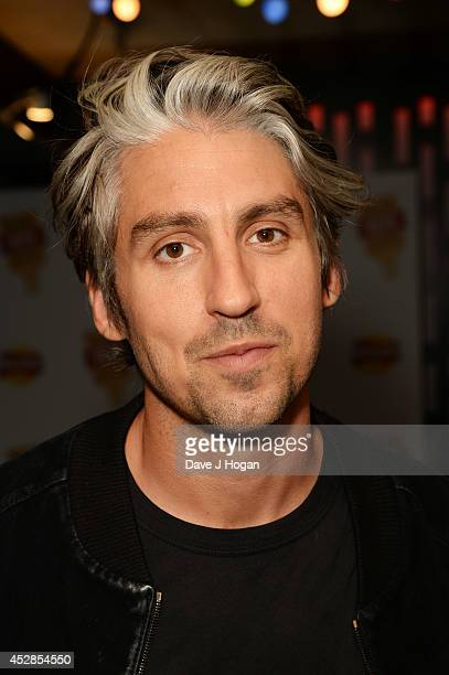George Lamb attends the Walkers 'Do Us A Flavour' finalists launch at Centrepoint on July 28 2014 in London England