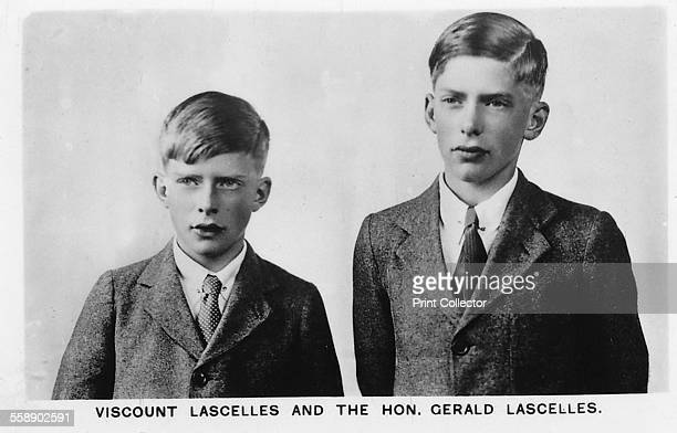 George Lascelles, 7th Earl of Harewood and the Honourable Gerald Lascelles . They were the sons of Princess Mary and grandsons of George V and Queen...