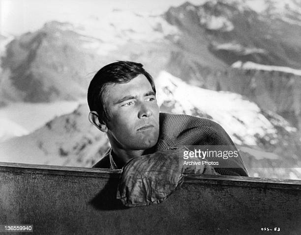 George Lazenby makes his screen bow as James Bond in new Ian Fleming screen thriller in the film 'On Her Majesty's Secret Service' 1969