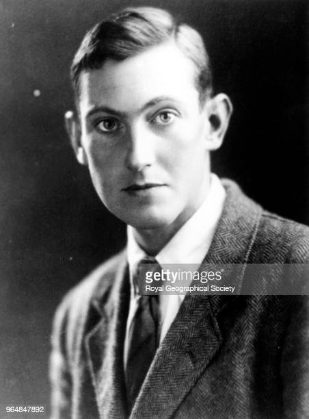 George Leigh Mallory China 1920 Mount Everest Expedition 1924