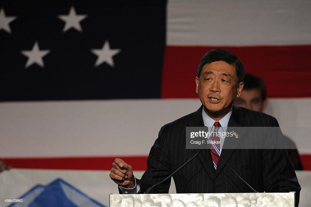 Colorado Election Night Event : News Photo
