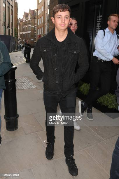 George Lineker attending the opening of the Bluebierd Cafe Covent Garden store on May 17 2018 in London England