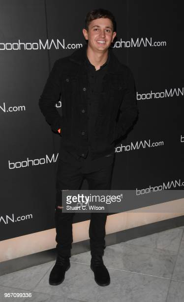 George Lineker attends the boohooMAN by Dele Alli VIP launch at ME London on May 10 2018 in London England