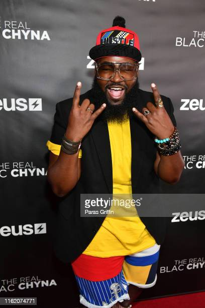 "George ""Little"" Lott attends ""The Real Blac Chyna"" Atlanta premiere screening at Regal Cinemas Atlantic Station Stadium 16 on July 14, 2019 in..."