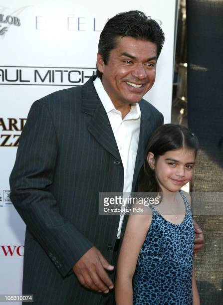 George Lopez and daughter Mayan during 2004 Movieline Young Hollywood Awards - Red Carpet Sponsored by Hollywood Life at Avalon Hollywood in...