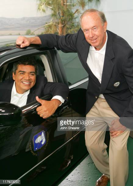 George Lopez and John Foster President of the Board of Directors for the Bob Hope Chrysler Classic