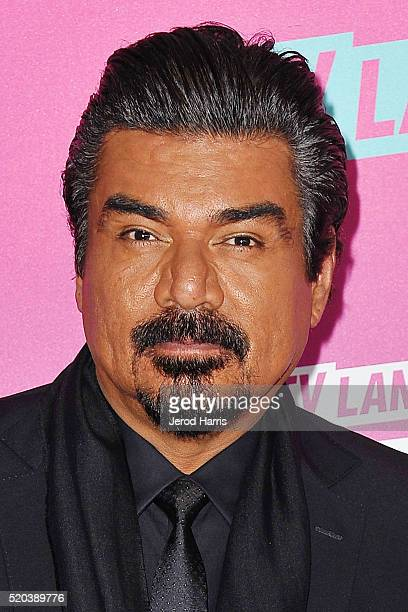 George Lopez arrives at the TV Land Icon Awards at The Barker Hanger on April 10 2016 in Santa Monica California