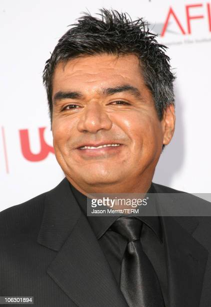 George Lopez during 35th Annual AFI Life Achievement Award Honoring Al Pacino Arrivals at Kodak Theatre in Hollywood California United States