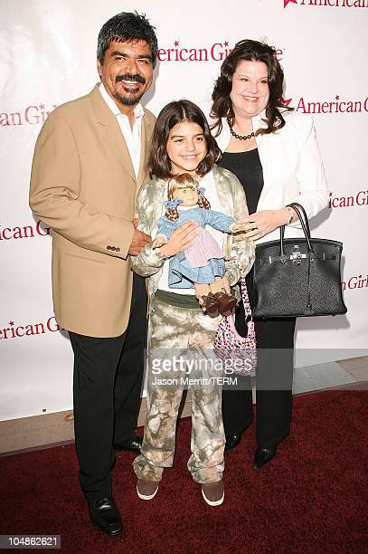 George Lopez during American Girl Store Opening at the Grove in Hollywood Arrivals at The Grove in Hollywood California United States
