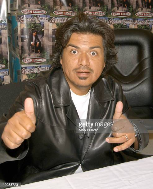 George Lopez during George Lopez at KMart to Promote His New CD 'Team Leader' at KMart in Glendale California United States