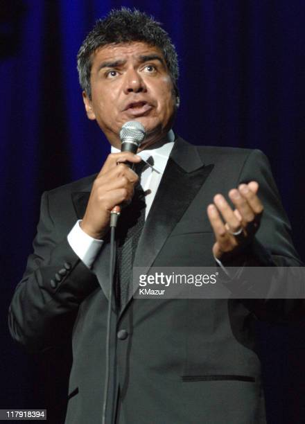 """George Lopez during The Andre Agassi Charitable Foundation's 10th Annual """"Grand Slam for Children"""" Fundraiser - Show at MGM Grand Garden Arena in Las..."""