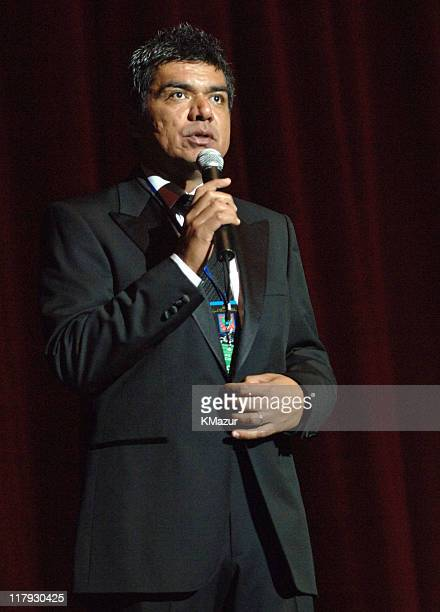 """George Lopez during The Andre Agassi Charitable Foundation's 10th Annual """"Grand Slam for Children"""" Fundraiser - Dinner and Auction at MGM Garden..."""