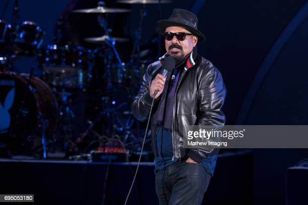 George Lopez hosts the Hollywood Bowl Presents the 39th Anniversary Playboy Jazz Festival at the Hollywood Bowl on June 11 2017 in Hollywood...