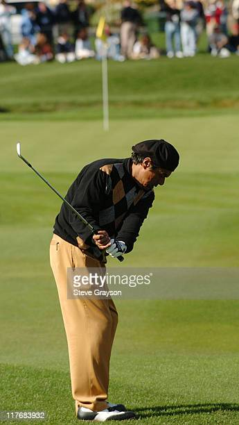 George Lopez in action during the third round of the PGA Tours 2004 ATT Pebble Beach National ProAm at Pebble Beach Golf Links February 7 2004