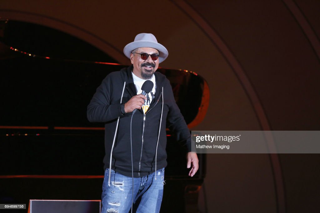 George Lopez onstage at the Hollywood Bowl Presents the 39th Anniversary Playboy Jazz Festival at the Hollywood Bowl on June 10, 2017 in Hollywood, California.