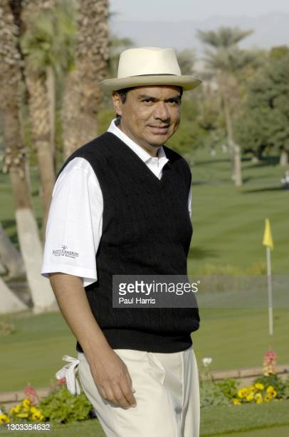 George Lopez participates in the 47th Annual Bob Hope Chrysler Classic Pro Am January 18, 2006 held at the Bermuda Dune Country Club, La Quinta,...