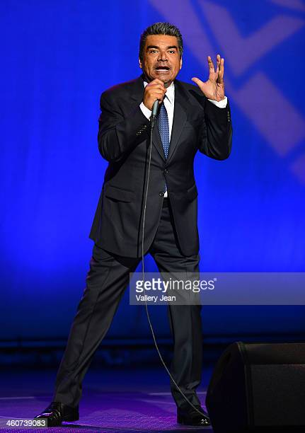 George Lopez performs at Hard Rock Live in the Seminole Hard Rock Hotel Casino on January 4 2014 in Hollywood Florida