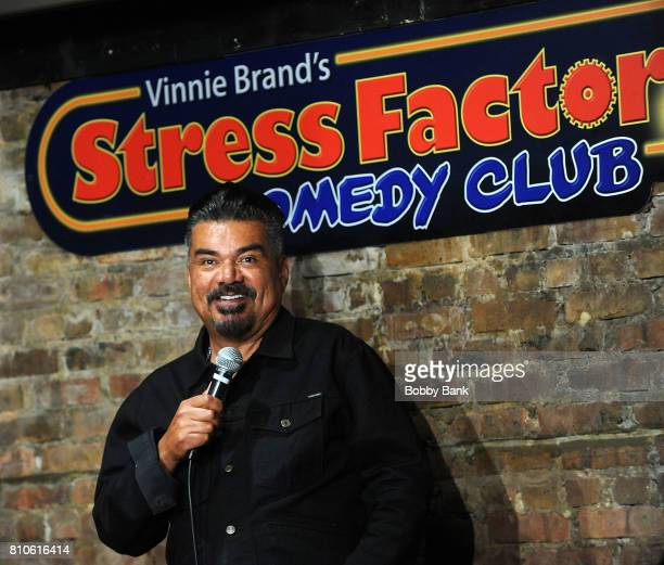 George Lopez performs at The Stress Factory Comedy Club on July 7, 2017 in New Brunswick, New Jersey.