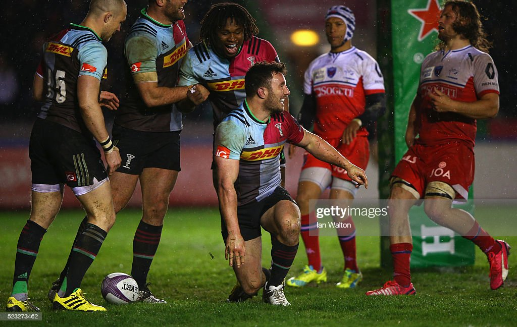 Harlequins v Grenoble - European Rugby Challenge Cup Semi Final : News Photo