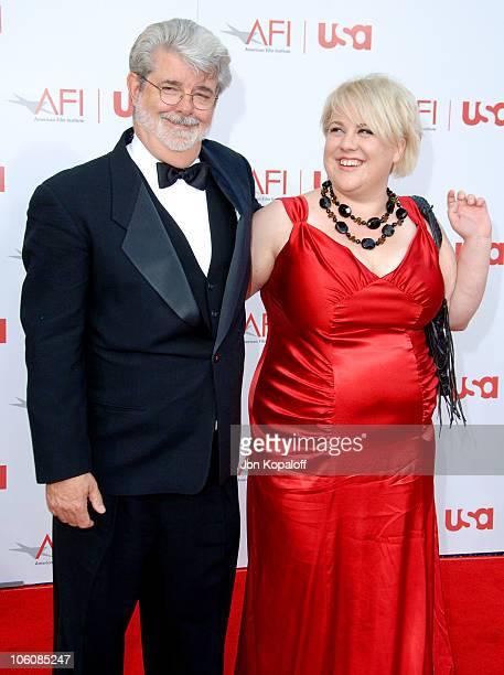 George Lucas and daughter Katie during 34th Annual AFI Lifetime Achievement Award A Tribute to Sean Connery Arrivals at Kodak Theatre in Hollywood...
