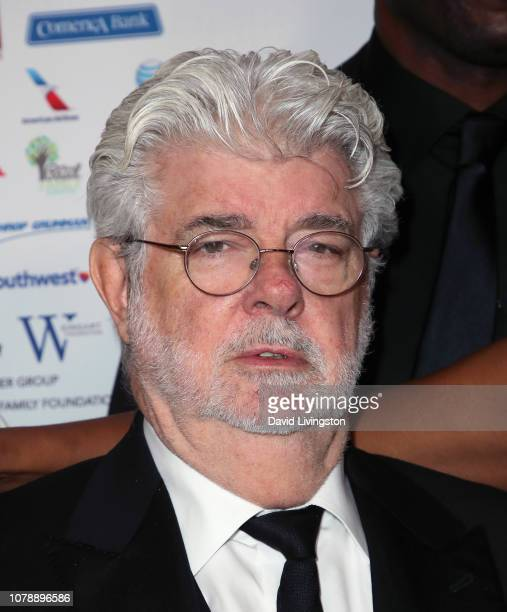 George Lucas attends the Brotherhood Crusade's 50th Pioneer of African American Achievement Award Dinner at The Beverly Hilton Hotel on December 07,...