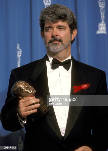 George Lucas during 64th Annual Academy Awards at Dorothy Chandler Pavilion in Los Angeles California United States